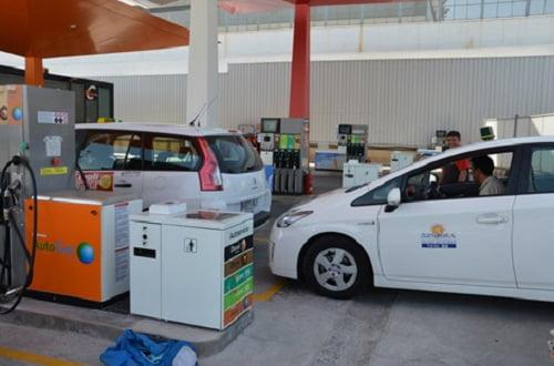 Comienza a funcionar el surtidor de Autogas GLP en Las Salinas.