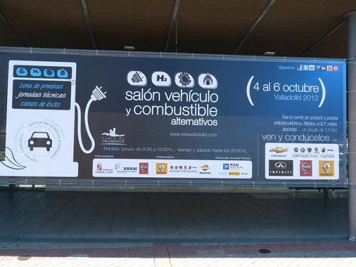 Comienza el Salón del vehículo y combustible alternativos en la Feria de Valladolid.