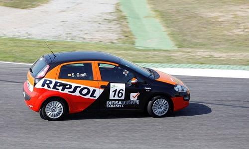 Sergi Giralt y Repsol, campeones en las ECOseries con el Fiat Punto GLP.