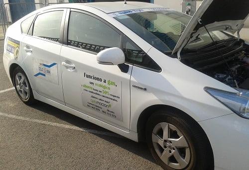 Hasta un 55% de bonificaciones en Palencia para vehículos a GLP.