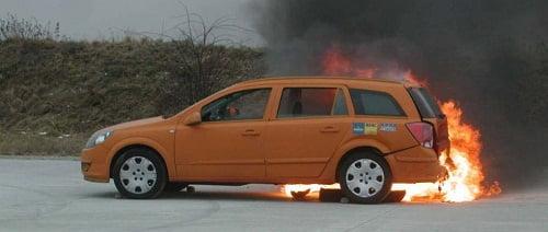 Informe de seguridad: El autogas en caso de choque o incendio.