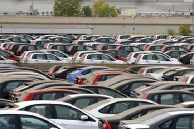 2012, el peor año para la industria del automóvil en España.