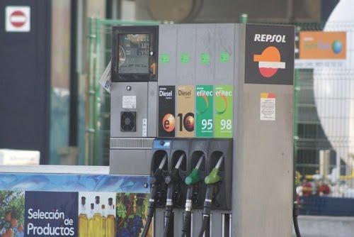 Baja un 20% la venta de combustible en Castilla y León, el mayor descenso del país.