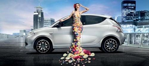 Lancia Ypsilon Ecochic: El gas natural, a la moda.