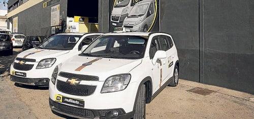 Los taxistas de Palma tendrán un coche de sustitución gratis hasta febrero.