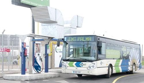 Apertura de la primera estación de servicio de GNC en Baleares.