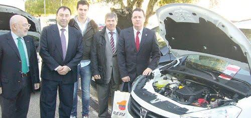 El Consistorio se compromete a adquirir coches de autogas.