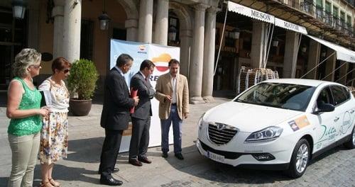 Nuevo vehículo de AutoGas para el Ayuntamiento de Segovia