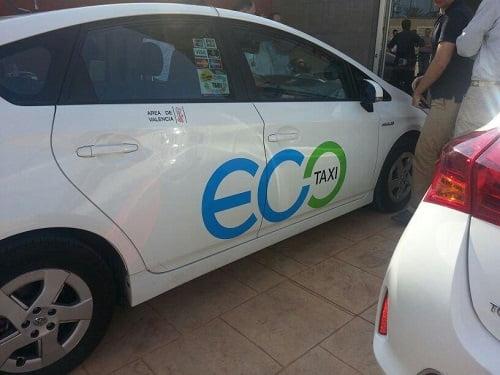 """Nace """"Ecotaxi"""", el taxi ecológico"""