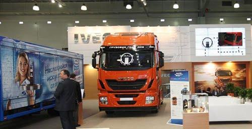 Iveco participa en Comtrans 2013 destacando sus vehículos propulsados por gas natural