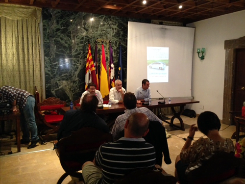 Celebradas las Jornadas de Movilidad Sostenible en Campos con la presencia de Gasmocion