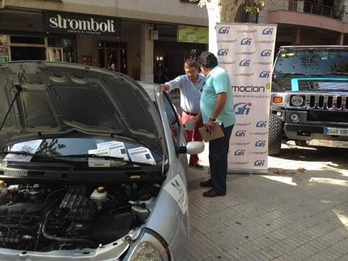 Gasmocion, presente en la Feria del Motor de Inca