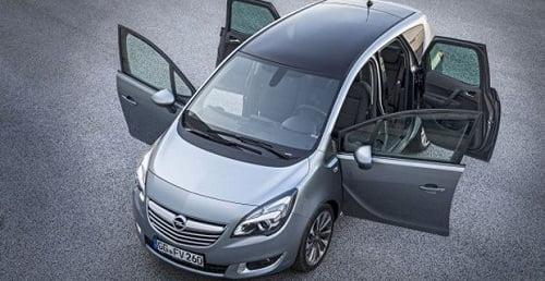 El nuevo Opel Meriva estrena renovados y eficientes motores, incluido de autogas GLP