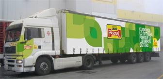 Pascual reduce el 75% de sus emisiones con su nueva flota ecológica