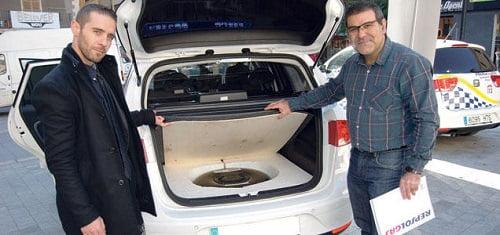 Dos nuevos coche patrulla con autogas GLP en el Ayuntamiento de Inca