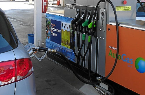 España cuenta ya con más de 300 estaciones de servicio con autogas/GLP