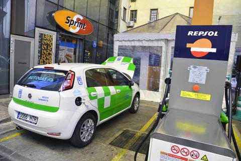 Madrid, a por la implantación del autogas GLP