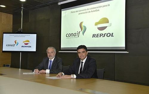 Conaif y Repsol potencian su colaboración sobre el uso del autogas/GLP
