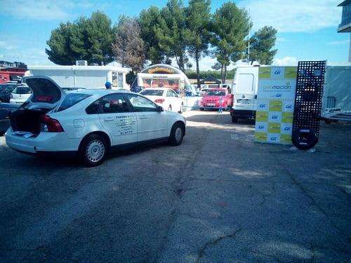 Gasmocion y Talleres Yomi, presentes en el evento de Última Vuelta celebrado en el circuito del Jarama.