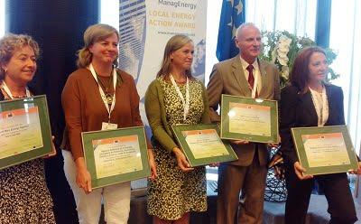 La Agencia Andaluza de la Energía recibe el segundo premio en los ManagEnergy 2014