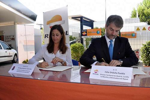 El Ayuntamiento de Ciudad Real y Repsol fomentan el uso de autogas/GLP