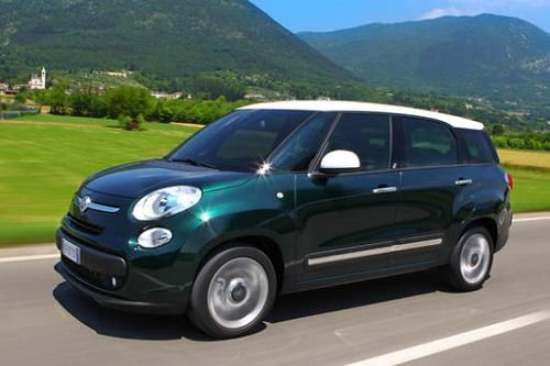El nuevo Fiat 500L, con un motor a autogas/GLP