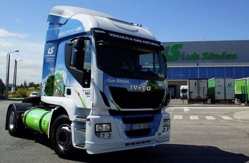 Luís Simões incluye un camión propulsado por GNL (gas natural licuado) en su flota