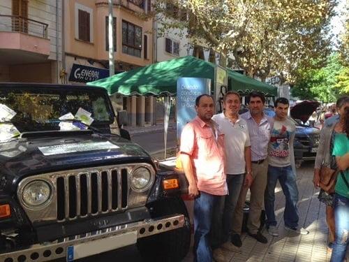 El autogas/GLP y Gasmocion, presentes en la Feria del Motor de Inca 2014