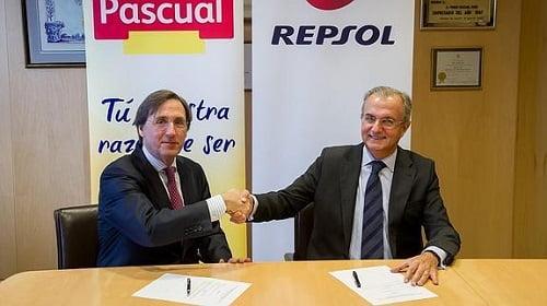 Repsol y Pascual se alían para proveer de autogas/GLP a la flota comercial del grupo alimentario