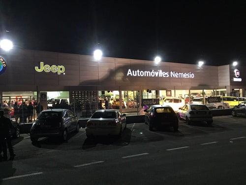 Celebrada la remodelación de Automóviles Nemesio, colaborador de Gasmocion S.L.