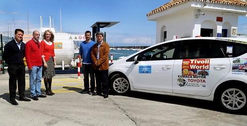 El Puerto Deportivo facilita a los taxistas de Benalmádena el abastecimiento de gas licuado de petróleo (GLP)