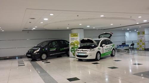 Gasmocion, presente en el Centro Comercial Meridiano de Santa Cruz de Tenerife impulsando el autogas GLP