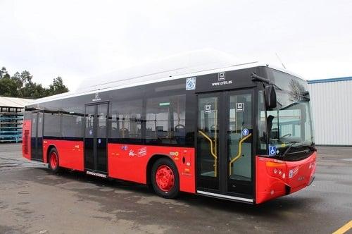 Alcalabus incorpora cuatro autobuses GNC de MAN