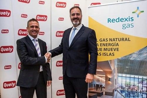 Quely transformará a gas su flota de vehículos de la mano de Redexis Gas