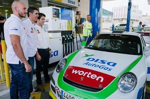 El autogas GLP llega a la competición con DISA