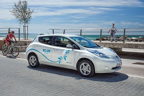 Goldcar Blue se refuerza con nuevos vehículos híbridos y de autogas GLP