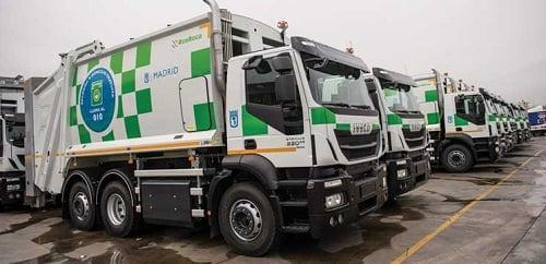 Iveco entrega 109 Stralis de gas natural comprimido GNC al Ayuntamiento de Madrid