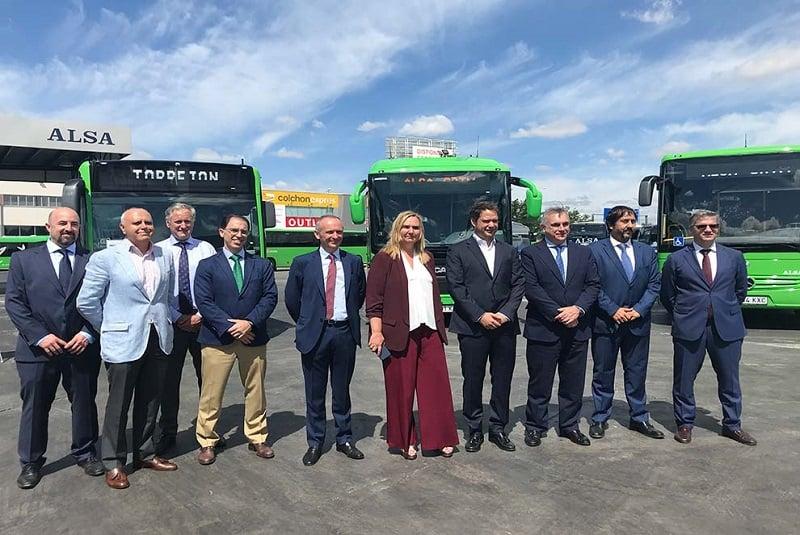 La Comunidad de Madrid renueva casi la mitad de la flota de autobuses interurbanos